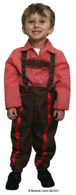 4bb72fe12655 Tyrolerpojke barn i gruppen Högtider / Oktoberfest / Oktoberfest kläder / Lederhosen  hos PARTAJSHOP AB (