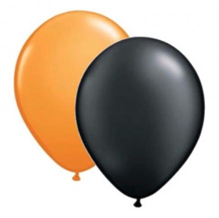 Ballonger Orange och Svart 4e54496660b83