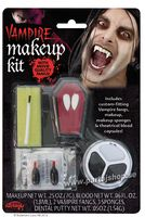 Vampyr make up kit med tänder