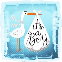 Folieballong baby shower BOY