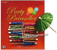 Party parasoll, drinkparaply metallic