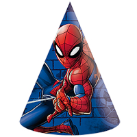 Partyhattar Spiderman