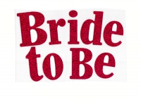 Bride To Be textil-text