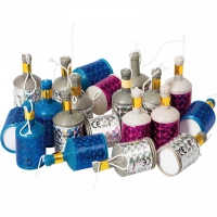 Party poppers 20-pack