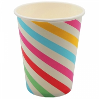 Pappersmugg stripes