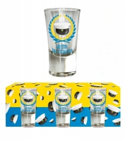 Shotglas student 3-pack