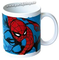 Spiderman spindelmannen mugg