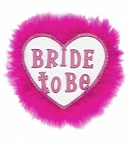 Bride to be - brosch
