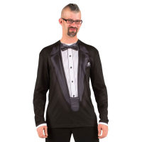 The black tux T-shirt