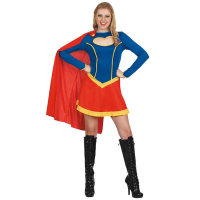 Super Girl Maskeraddräkt