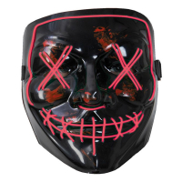 Led mask el wire purge