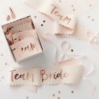 Ordensband Team Bride 6-pack