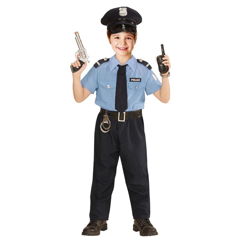 polis tillbehör maskerad