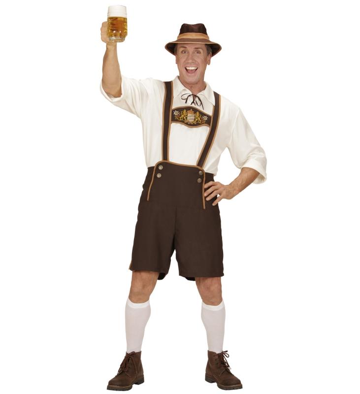 Hängselbyxor och skjorta oktoberfest bc6df6e793d30