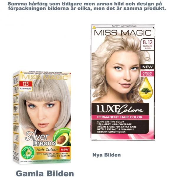 silver blond hårfärg