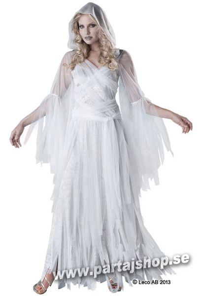 Spöke långklänning maskeraddräkt d7857b3951a2b