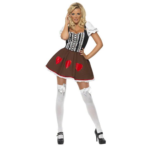 5d76da1d055c Sexig Tyrolerklänning i gruppen Högtider / Oktoberfest / Oktoberfest kläder  / Tyrolerklänning hos PARTAJSHOP AB (