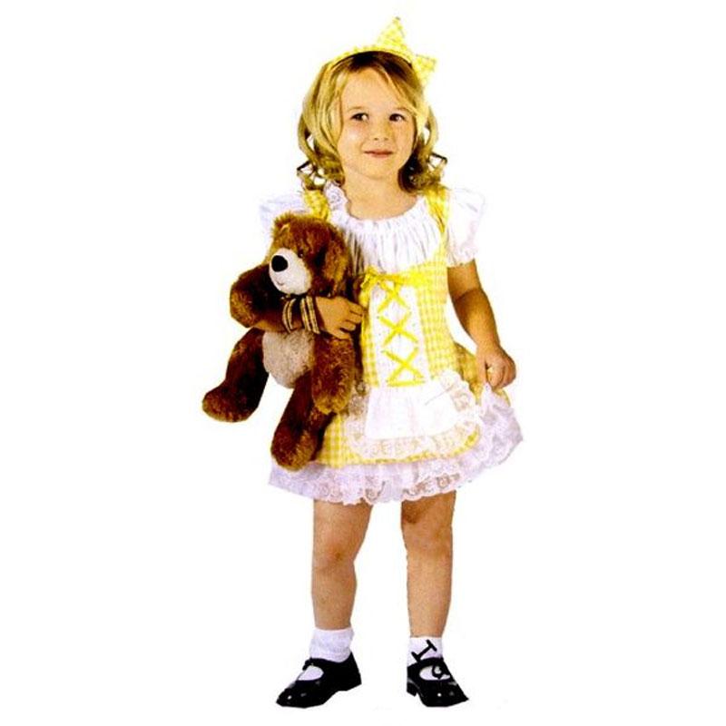Guldlock-klänning 6d634f1707901