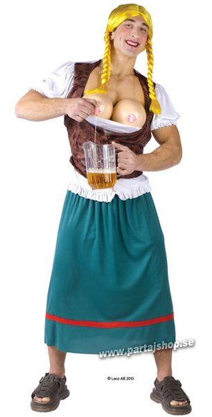45b3a1ce3910 Party Miss Oktober. 649 kr. Betyg på Party Miss Oktober i gruppen Högtider  / Oktoberfest / Oktoberfest kläder / Tyrolerklänning hos
