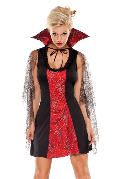 Vampyra kort klänning 8acc58cb78f84