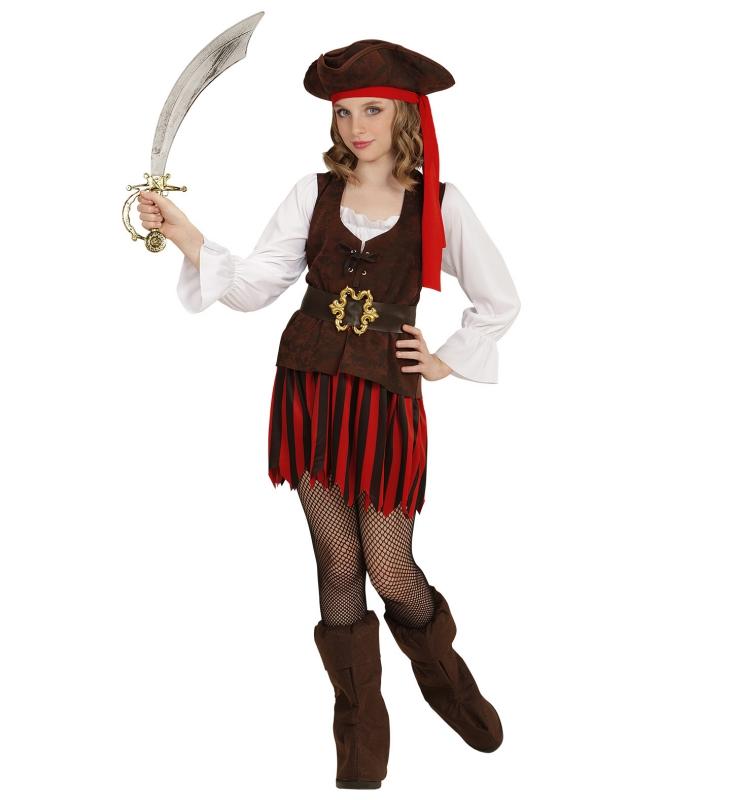 b0ae8a16cb22 Pirat Dräkt tjej