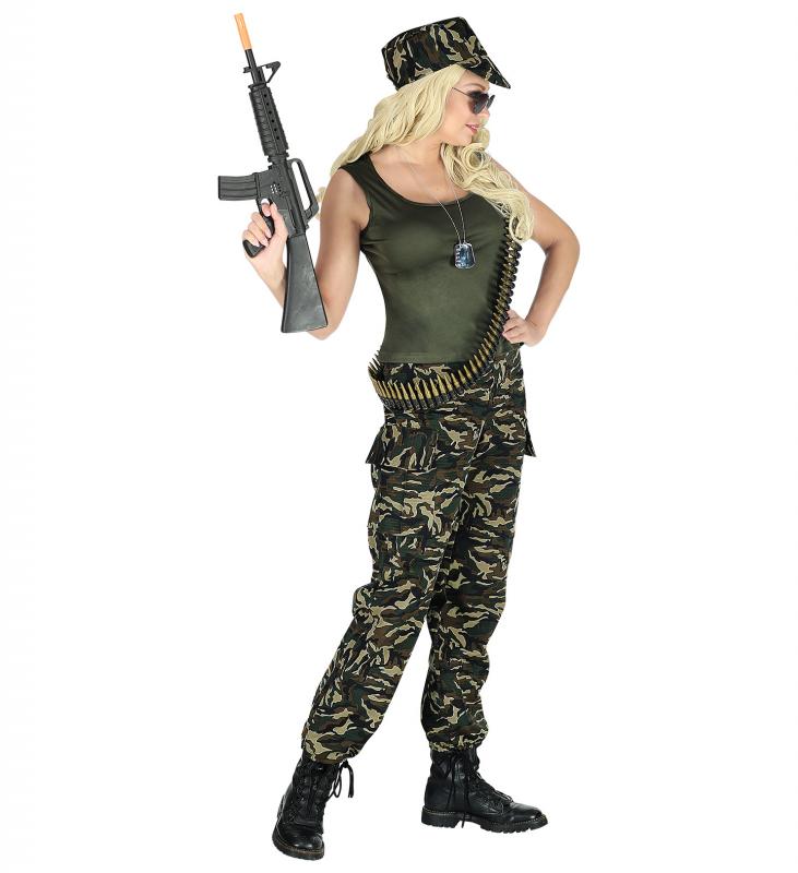 Militär Maskeraddräkt L 1278485dfdc55