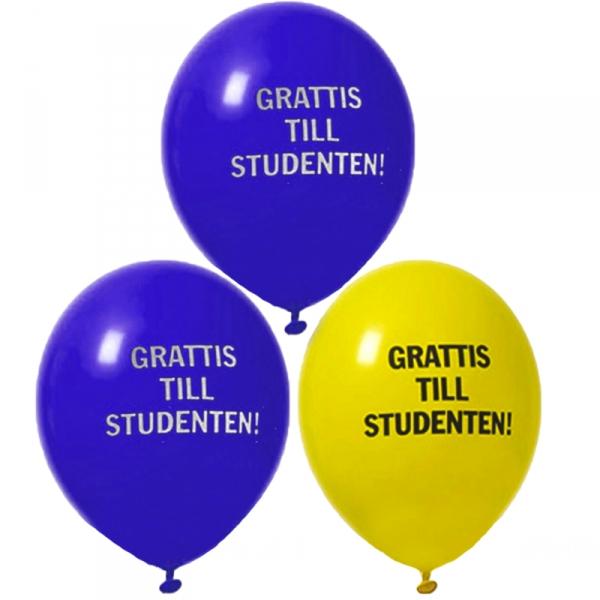 grattis till studentexamen Ballonger studenten grattis till studentexamen
