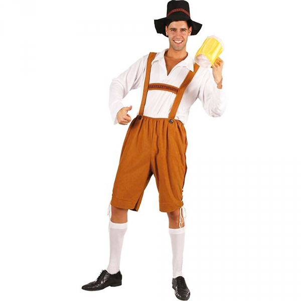 22b4daed10ec Oktoberfest tyrolerbyxor. 259 kr. Betyg på Oktoberfest tyrolerbyxor i gruppen  Högtider / Oktoberfest / Oktoberfest kläder / Lederhosen hos PARTAJSHOP