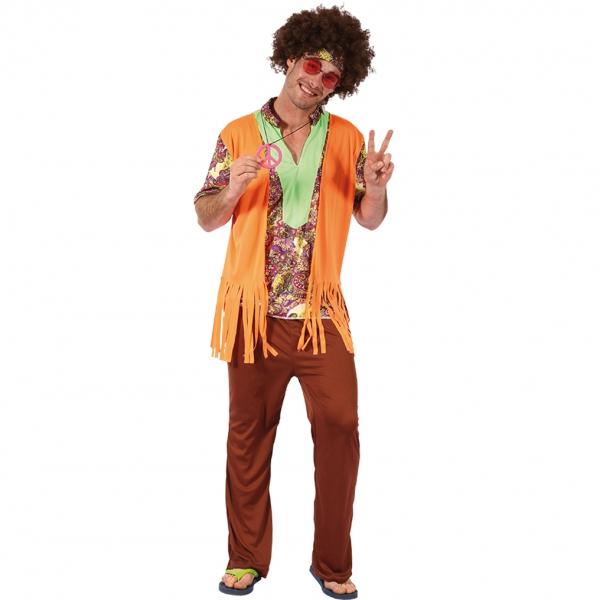 e58265c8137b Hippie maskeraddräkt man