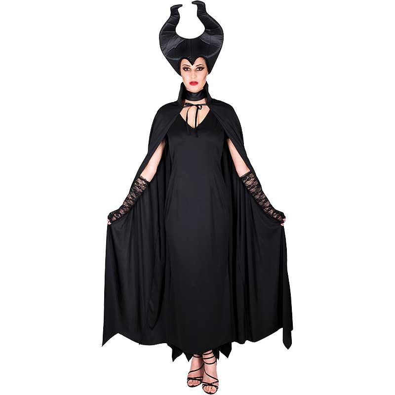 3309315f Maleficent Maskeraddräkt