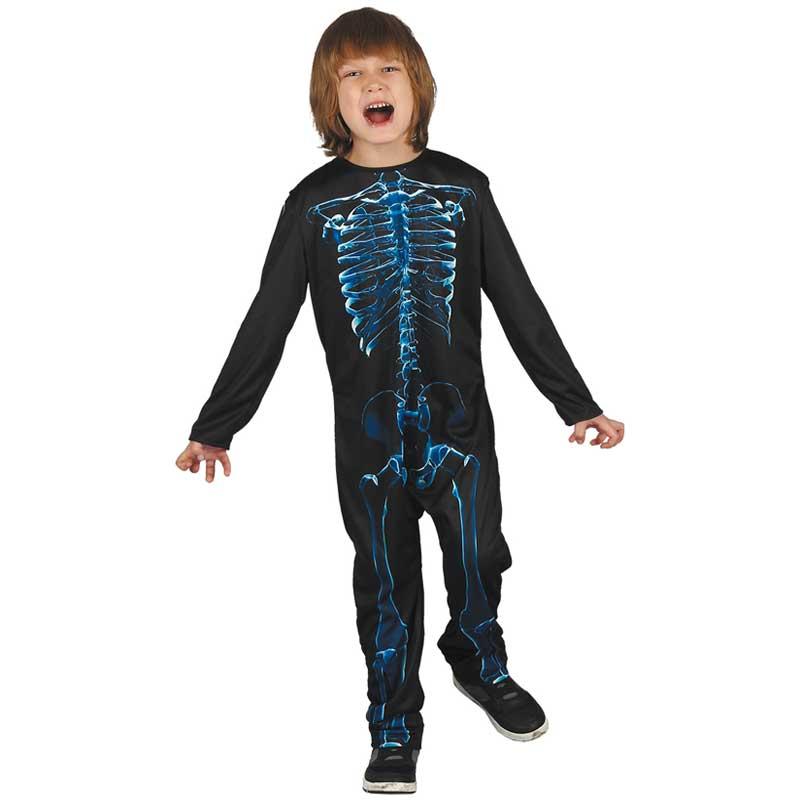 Skelett Maskeraddräkt Barn d85910dc01380